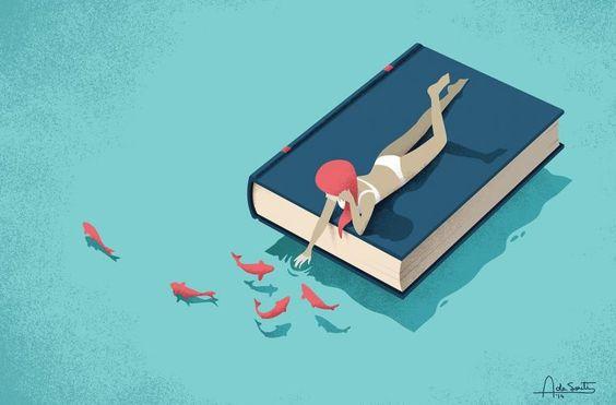 Libri - Crema solare, telo da mare, occhiali da sole, borraccia d'acqua e un buon libro. Questi gli ingredienti perfetti per una giornata al mare in