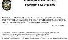 Comune di Nepi   Estate Borgiana 2015