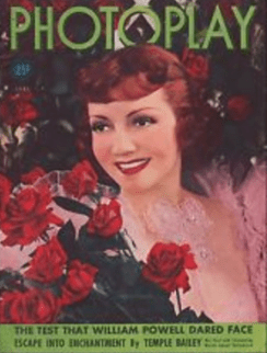 Photoplay June 1938 Claudette Colbert