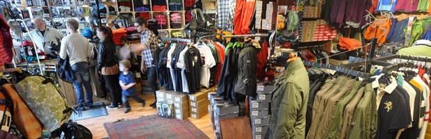 Magazinet Sport - friluftsbutik i Karlstad, löparskor, jackor och byxor