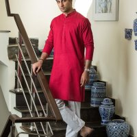 Ittehad Textiles Ready to Wear Mens Summer Kurta Look 2020