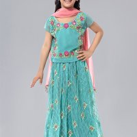 Awesome Maria B Eid Dresses Designs kids Look 2020