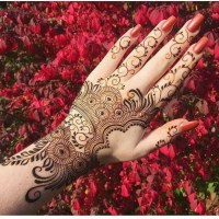 Awesome Unique Eid Mehndi Designs Girls 2020