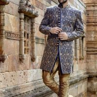 Trending Pakistani Sherwani Designs for Groom 2020
