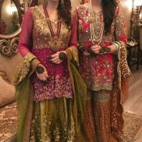 Awesome Bridal Mehndi Dresses For Wedding Girls 2020-21