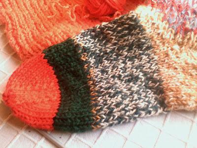 cum se tricoteza sosetele