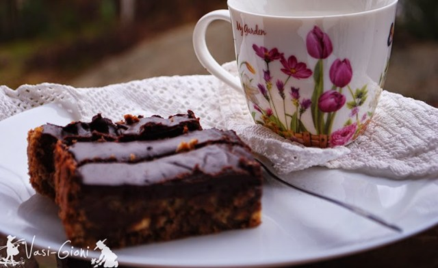 tarta cu halva si ciocolata