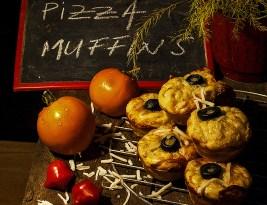 Pizza Muffins – Reteta cu praf de copt