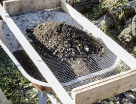 DIY – Sita pentru compost, rapid si cu bani putini
