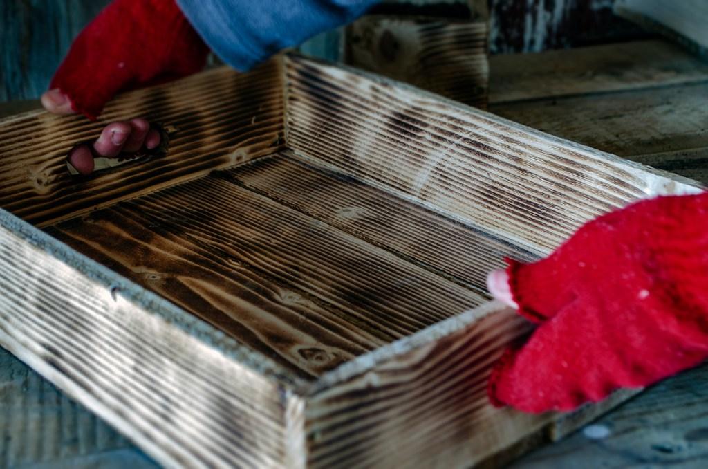 Ladă lemn pentru răsaduri