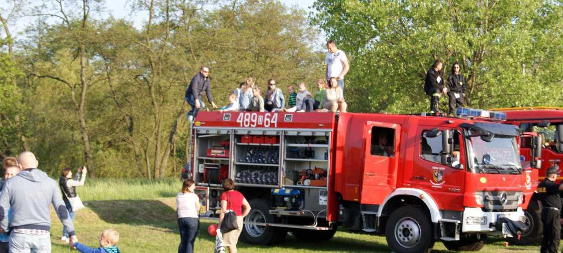 Gminne zawody pożarnicze w Szklarach Górnych
