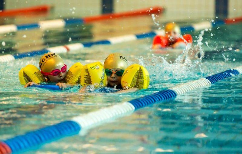 KGHM. Zajęcia nauki pływania dla dzieci w ramach EKO – Zdrowia