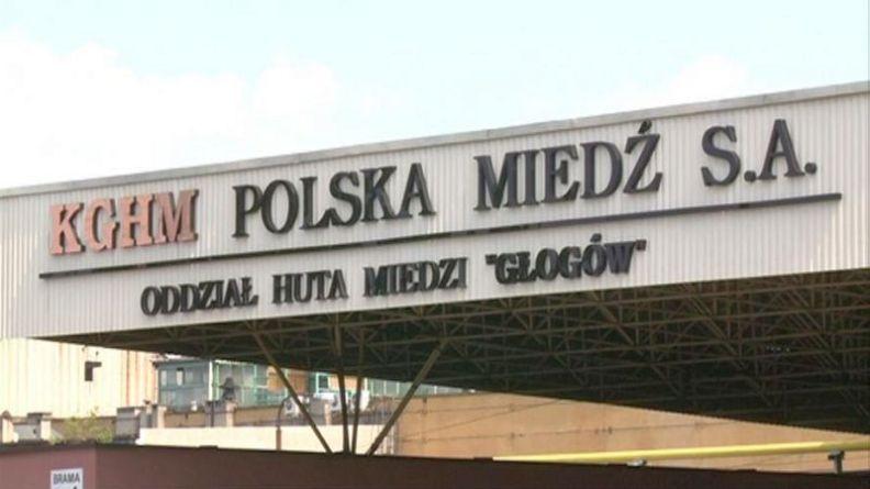 Wypadek w Hucie Miedzi Głogów. Dwie osoby doznały obrażeń