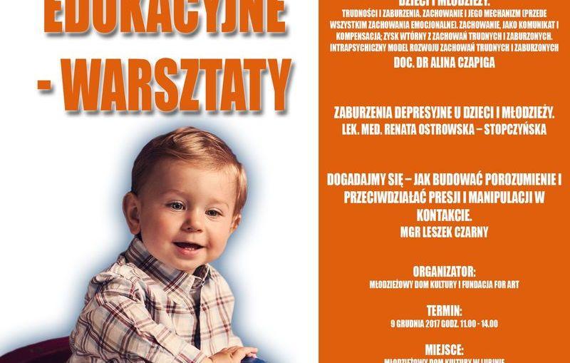 MDK w Lubinie organizuje warsztaty