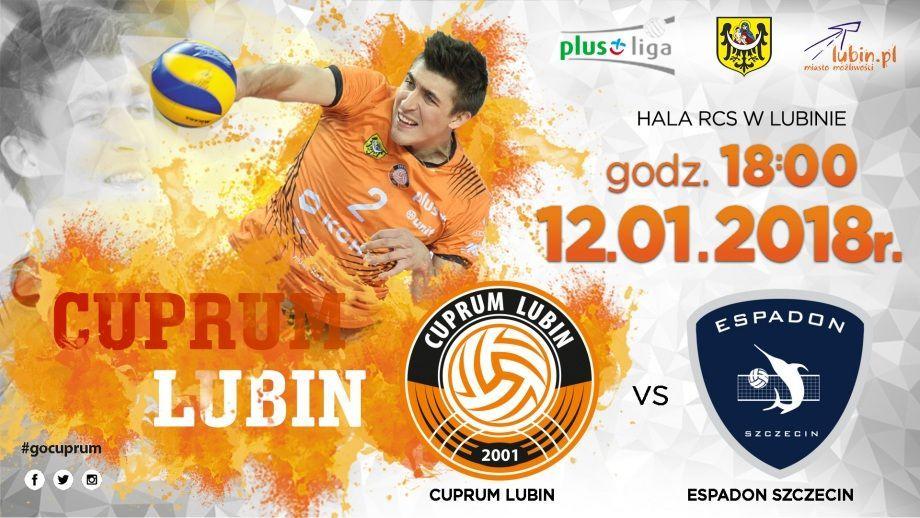 Plus Liga: Cuprum Lubin – Espadon Szczecin