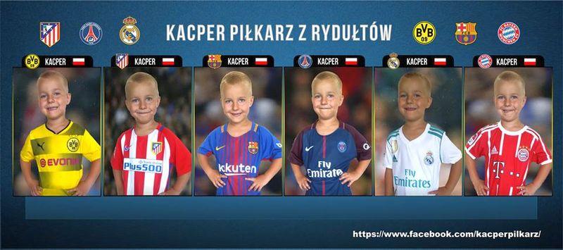 Kacper z Rydułtów najmłodszym zawodnikiem Akademii Zagłębia Lubin