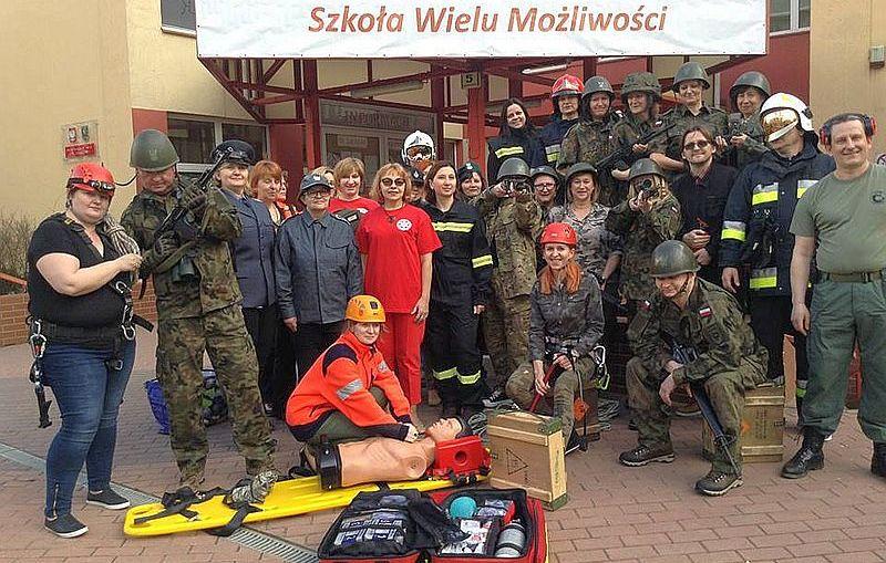Klasa mundurowa w III LO w Lubinie