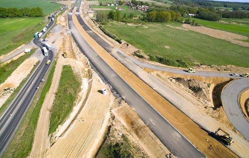 Opóźnienie na budowie drogi S3 między Polkowicami i Lubinem. Termin czerwcowy nierealny