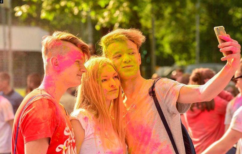 Ogólnopolskie święto kolorów, czyli Holi Festival Poland w Lubinie