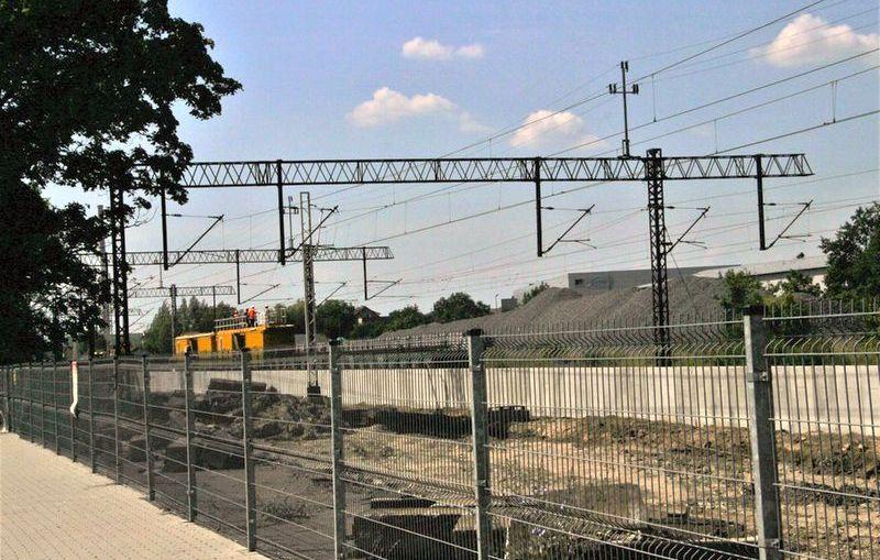Linia kolejowa Rudna Gwizdanów na półmetku