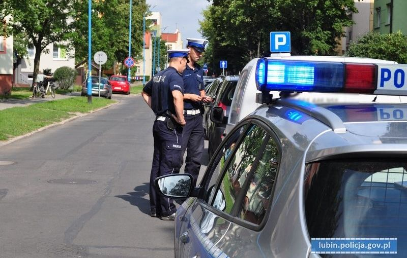 """Akcja """"Pasy"""" na drogach powiatu lubińskiego"""