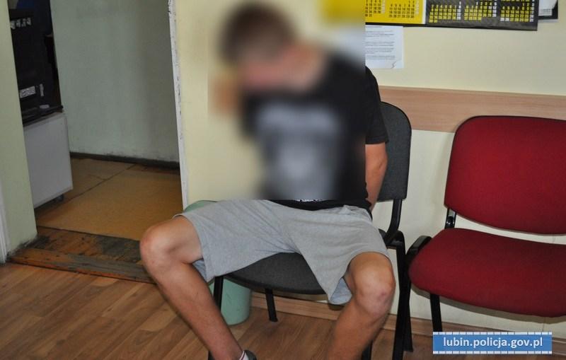 18-letni amator rowerów trafił w ręce lubińskich policjantów