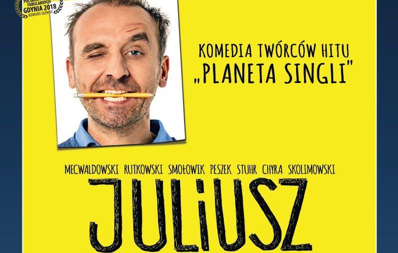 """Brawurowa komedia """"JULIUSZ"""" w kinie Helios!"""