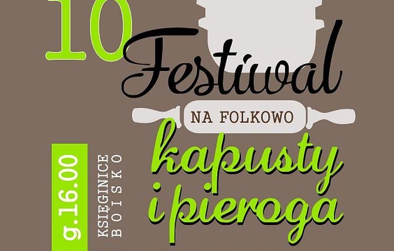 Kulinarnie, folkowo, dożynkowo i narodowo w nadchodzący weekend!