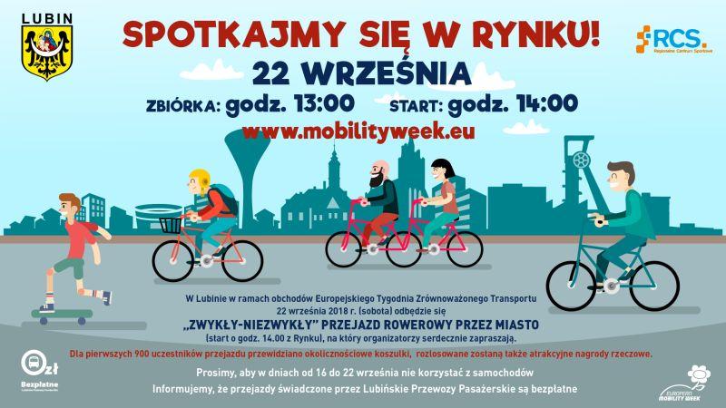 """""""Zwykły – Niezwykły"""" przejazd rowerowy przez miasto"""