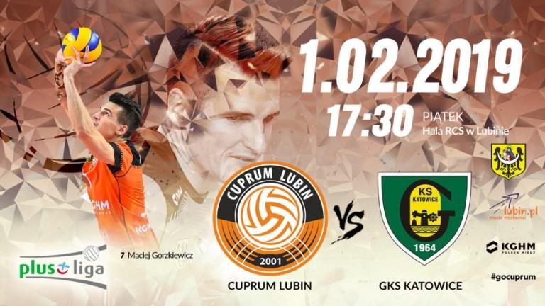 Plus Liga: Cuprum Lubin vs GKS Katowice