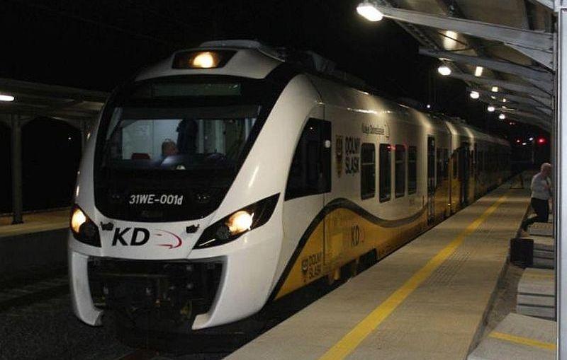 Pierwszy pociąg KD wjechał do Lubina