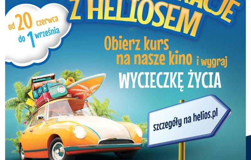 Filmowe wakacje z Heliosem – wieki konkurs!