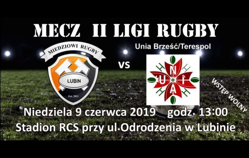 Rugby. Kolej na Unia Brzesć/Terespol