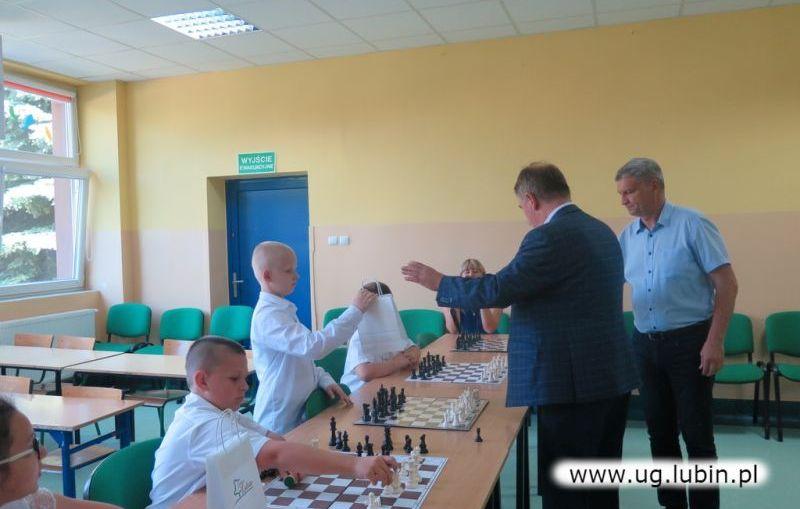 Finał corocznych symultan szachowych