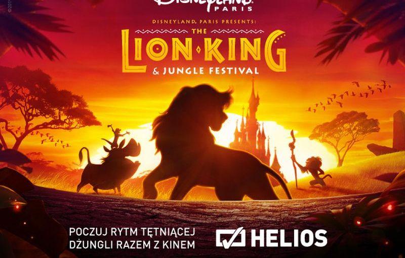 """""""Król Lew"""" i konkurs z Disneyland® Paris w kinie Helios!"""