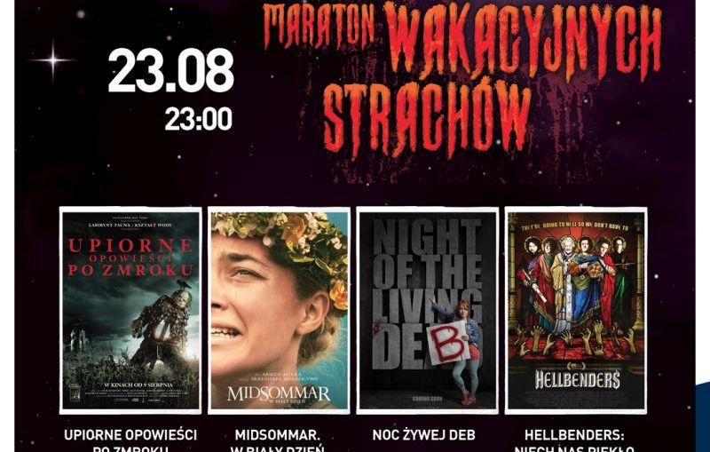 Maraton wakacyjnych strachów w kinach Helios!