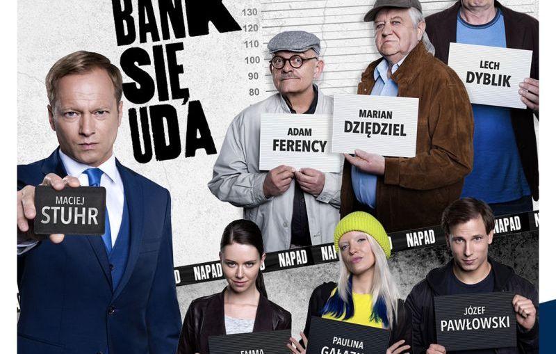 """""""Na bank się uda"""" - komedia kryminalna w kinach Helios!"""
