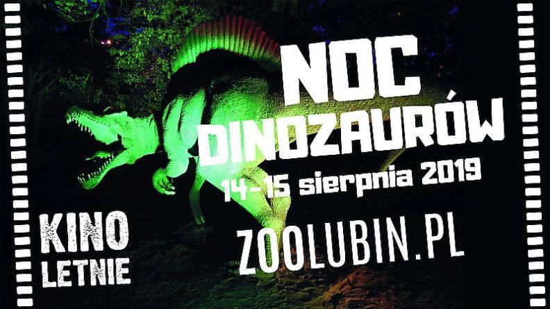 Noc Dinozaurów 2019 w ZOO Lubin