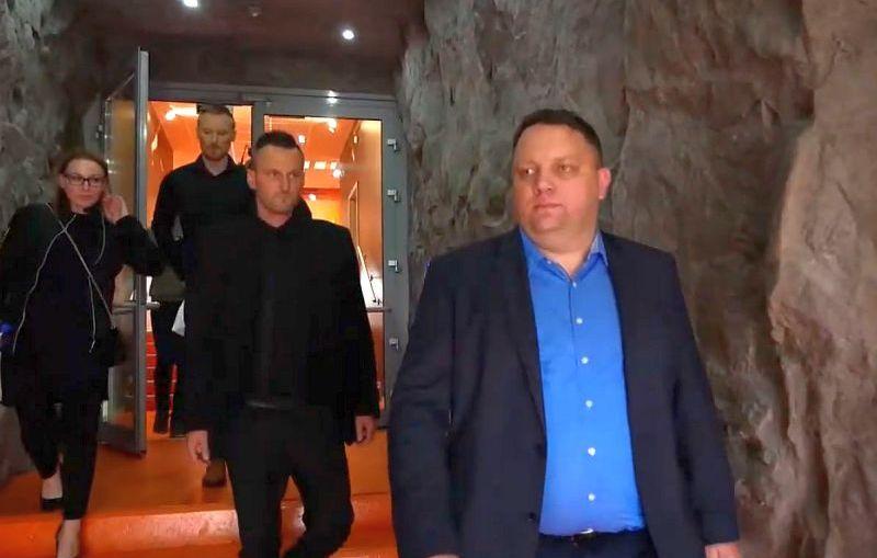 Prezes KGHM odwiedził piłkarzy Zagłębia na treningu