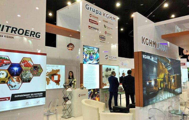 Spółki Grupy Kapitałowej KGHM razem na Międzynarodowych Targach Górnictwa