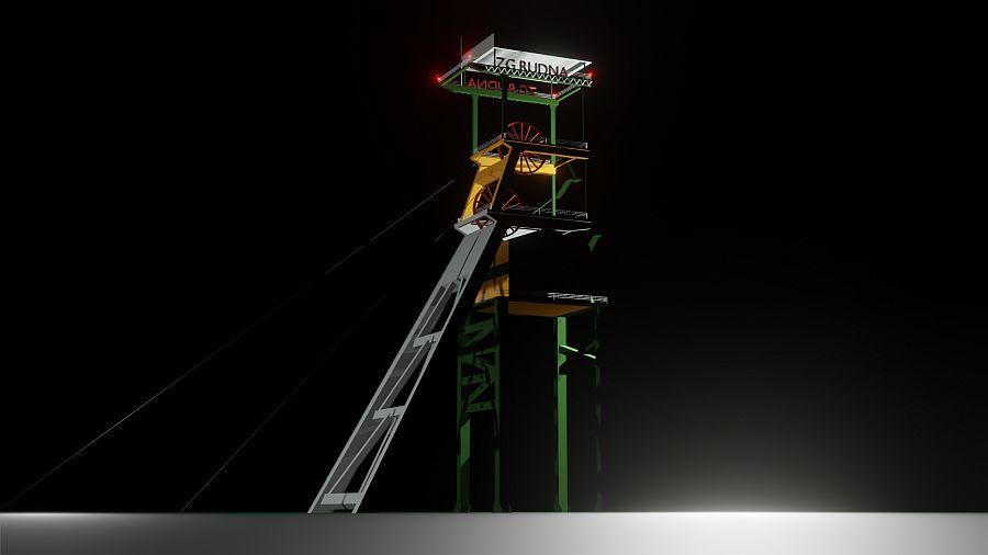 Barbórka 2019- odsłonięcie makiety wieży szybowej