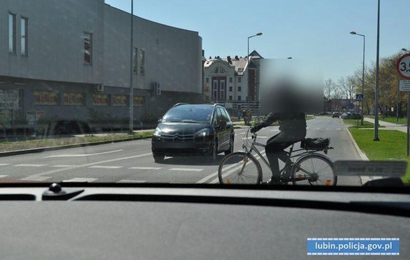 """""""Niechronieni uczestnicy ruchu drogowego"""" - działania lubińskich policjantów."""