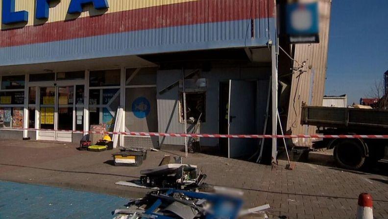 Sprawcy wysadzenia i obrabowania bankomatu w Lubinie usłyszeli zarzuty
