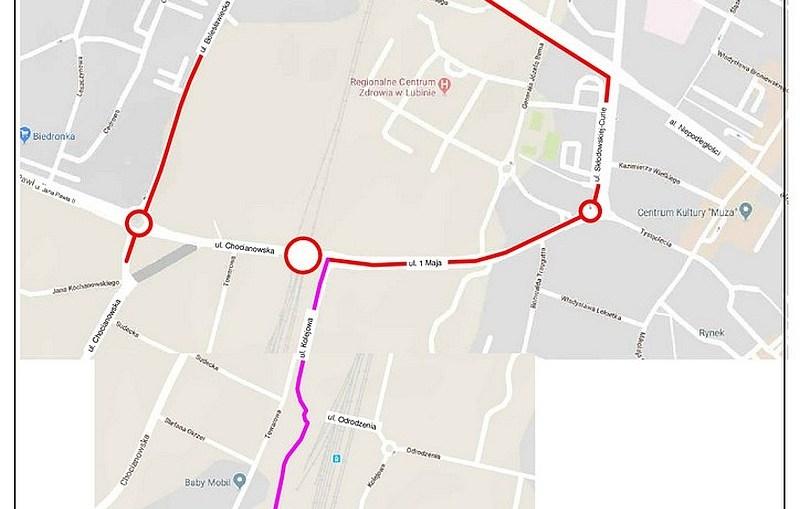 Planowane zamknięcie przejazdu kolejowego w Lubinie