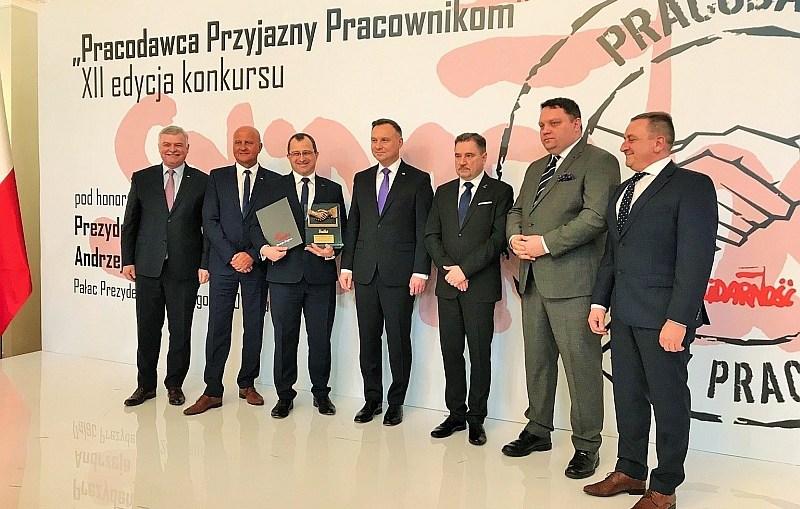 """KGHM Polska Miedź S.A. Oddział Zakłady Górnicze """"Polkowice – Sieroszowice"""" laureatem nagrody """"Pracodawca Przyjazny Pracownikom"""""""