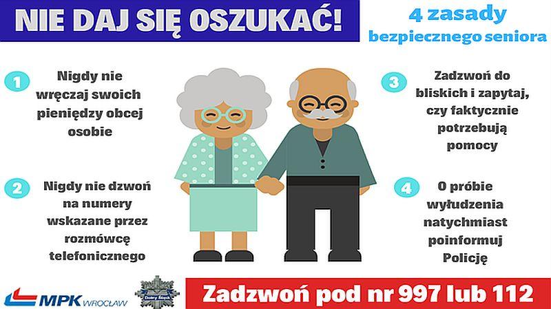Seniorze, uważaj na oszustów!