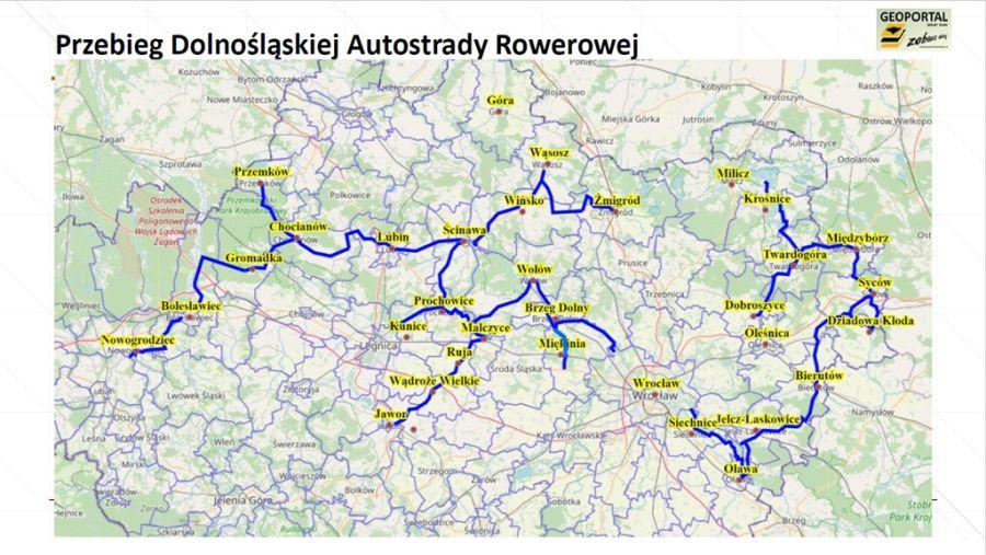 Dolnośląska Autostrada Rowerowa m.in. przez Ścinawę i Lubin!