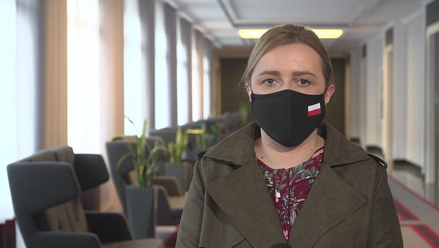 Olga Semeniuk: W pierwszej kolejności będą odmrażane sklepy detaliczne i centra handlowe.