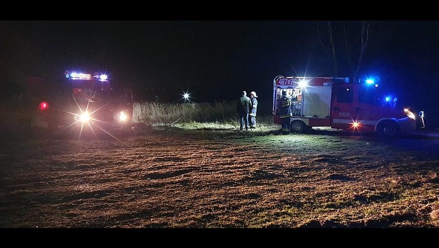 Pożary traw są groźne dla życia i zdrowia – interwencje straży pożarnej