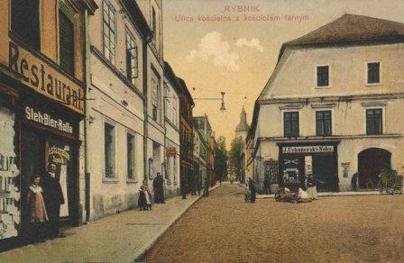 Pocztówka pochodzi z okresu Powstań Śląskich i Plebiscytu